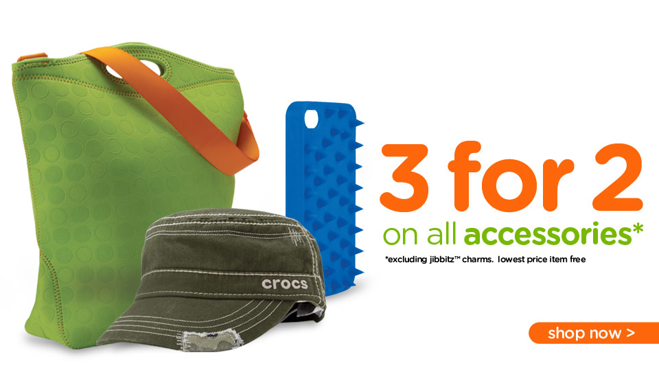 3 for 2 on accessories
