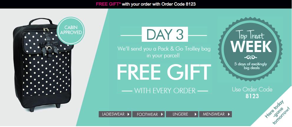Free Gift at Daxon