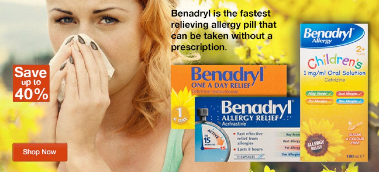 Save Up To 40% Off Benadryl Products